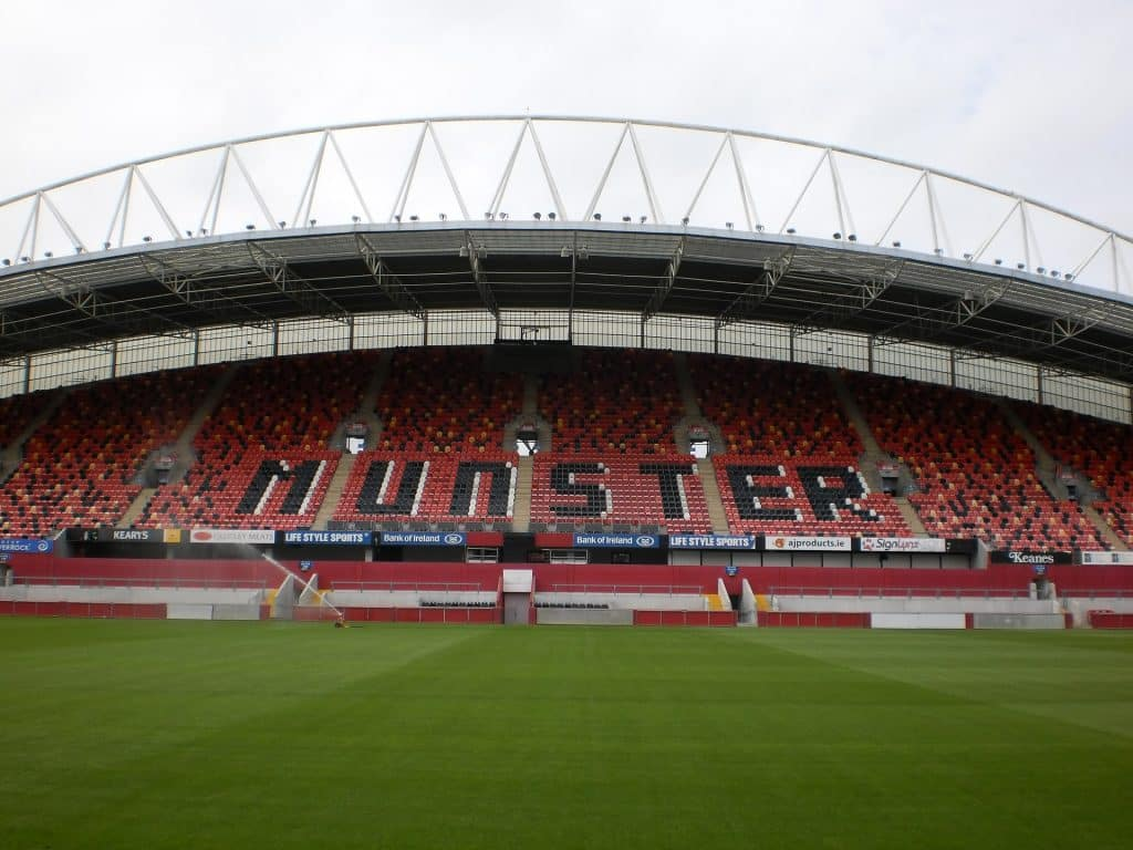 The home of Munster Rugby.