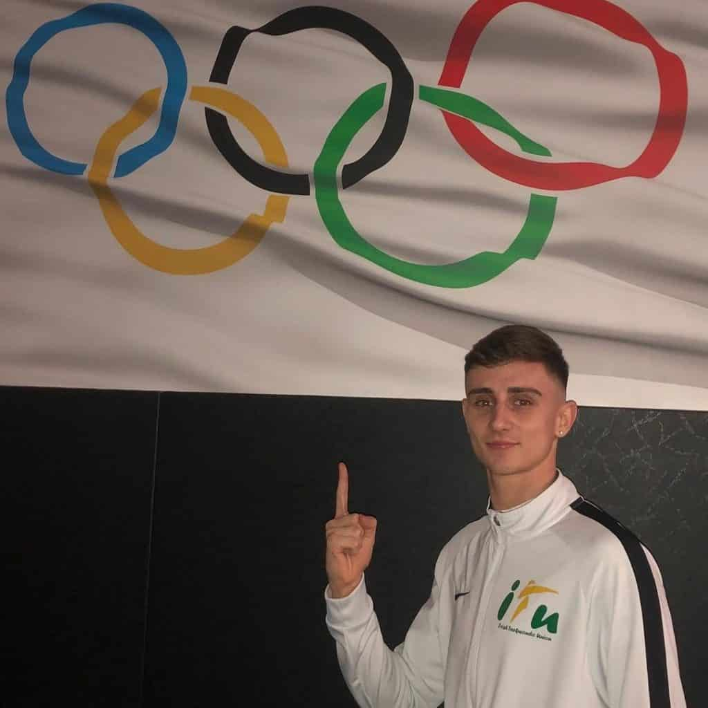 Jack Woolley is one of the Irish athletes at the 2021 Olympics.
