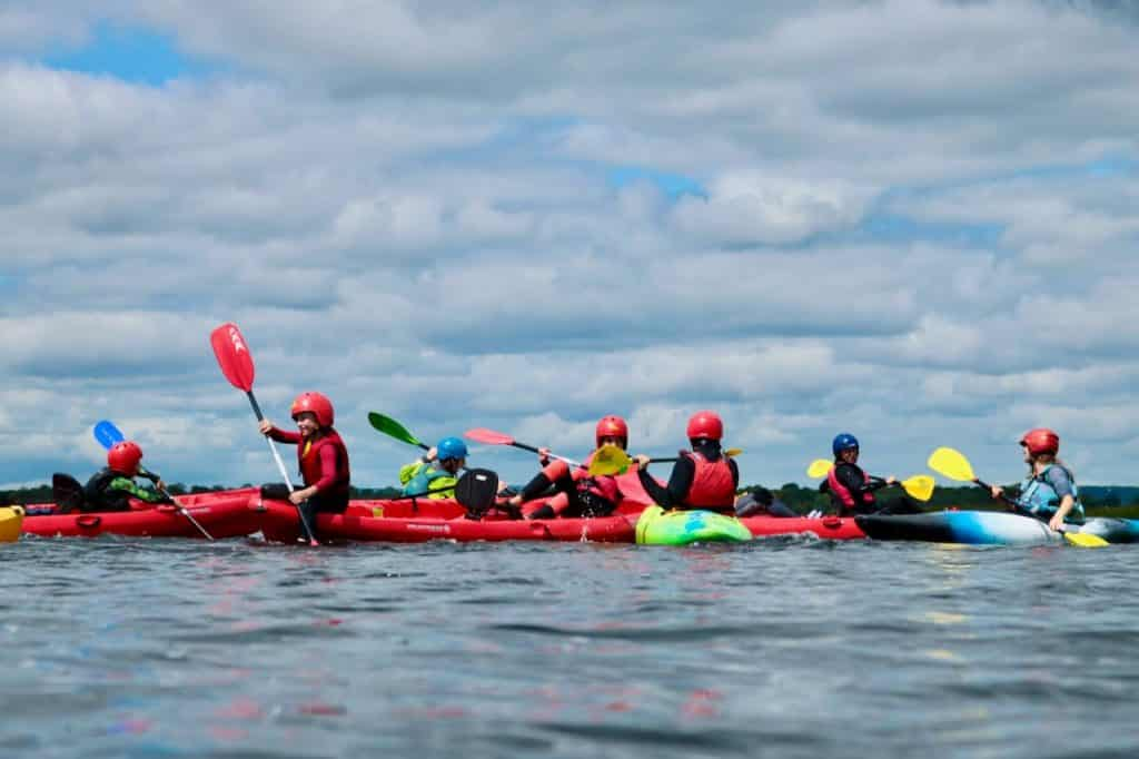 Lough Derg is one of the best spots for kayaking in Ireland.