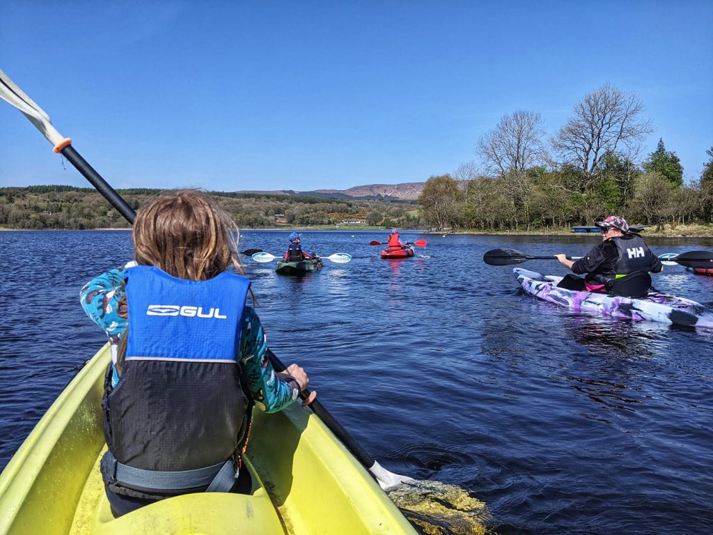 Lough Gill is one of the best spots for kayaking in Ireland.