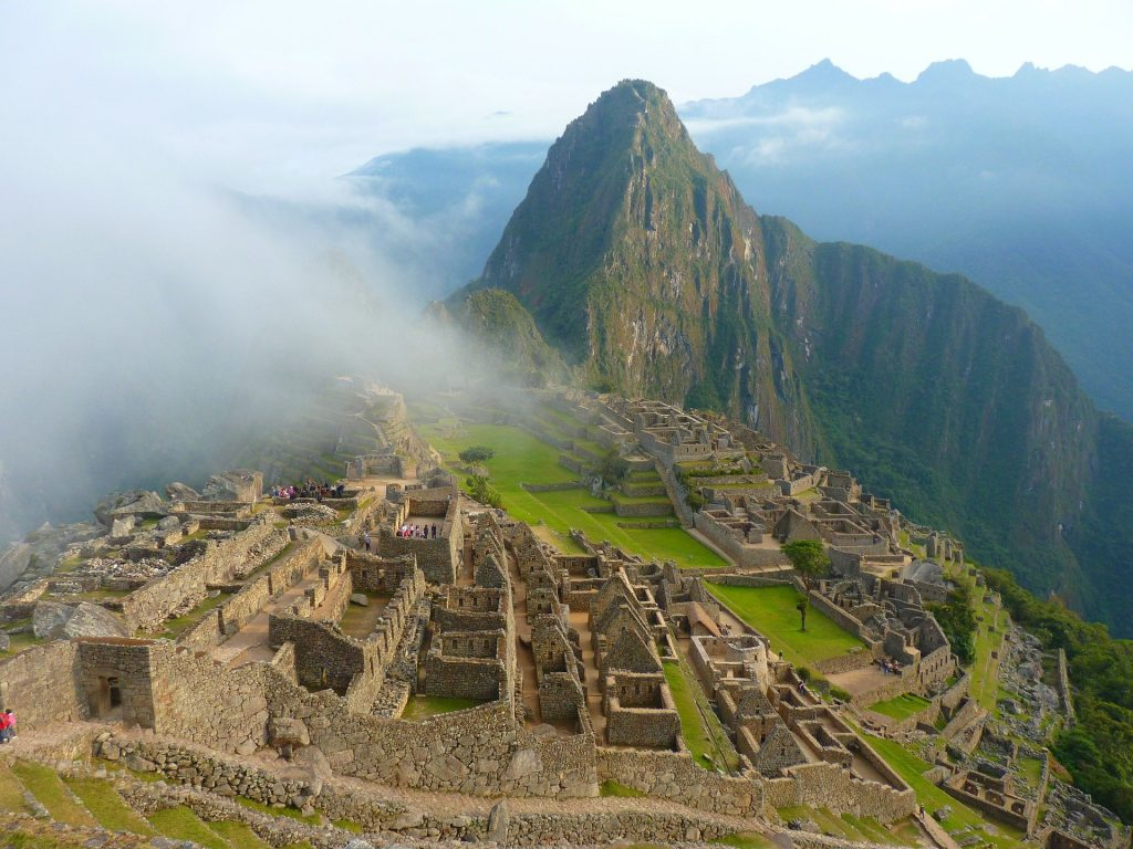 The Inca Trail topped the list of most photographed hiking trails.