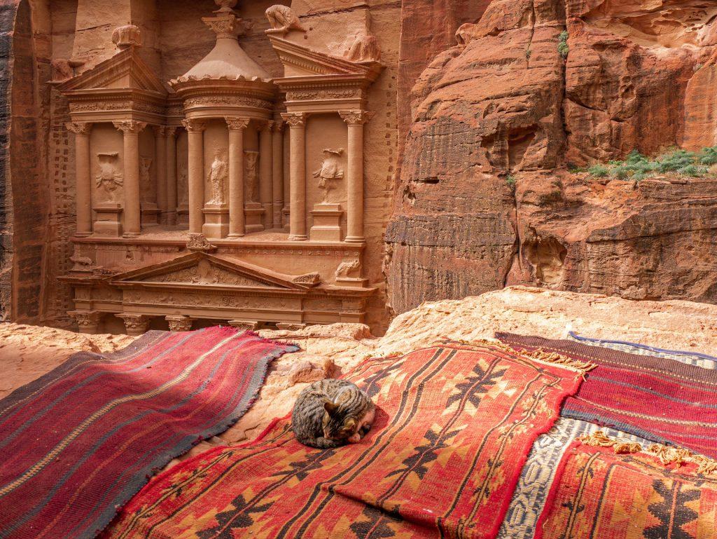 Petra in Jordan made the top ten.