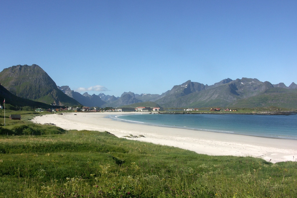 A beach in Norway took the top spot.