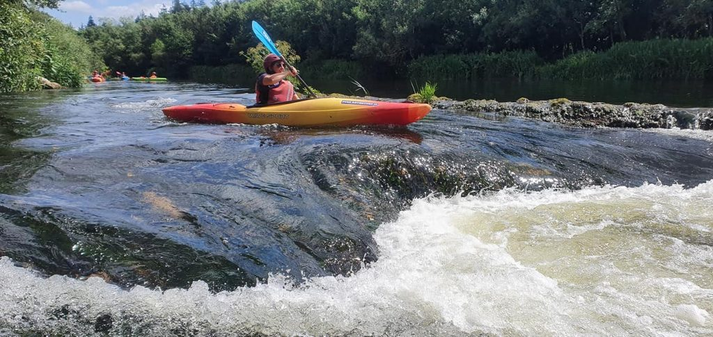 The River Barrow is one of the best spots for kayaking in Ireland.