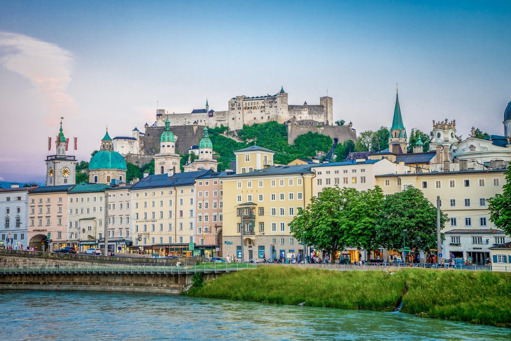 Salzburg ranked number two.