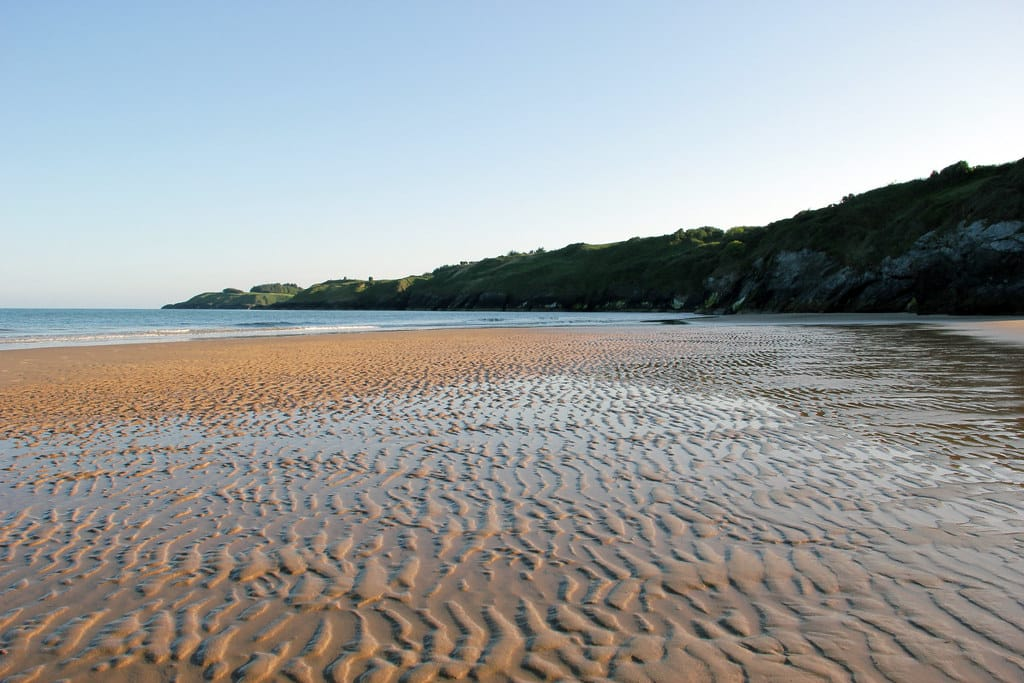 Silver Strand Beach is one of the best beaches in Wicklow.
