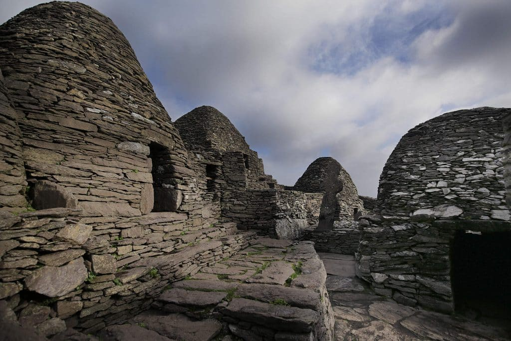 Skellig Michael is one of the most beautiful movie locations.
