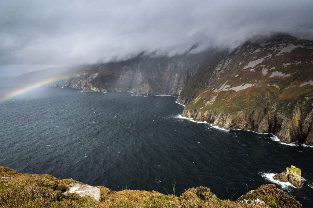 Donegal is named Ireland's most scenic county.