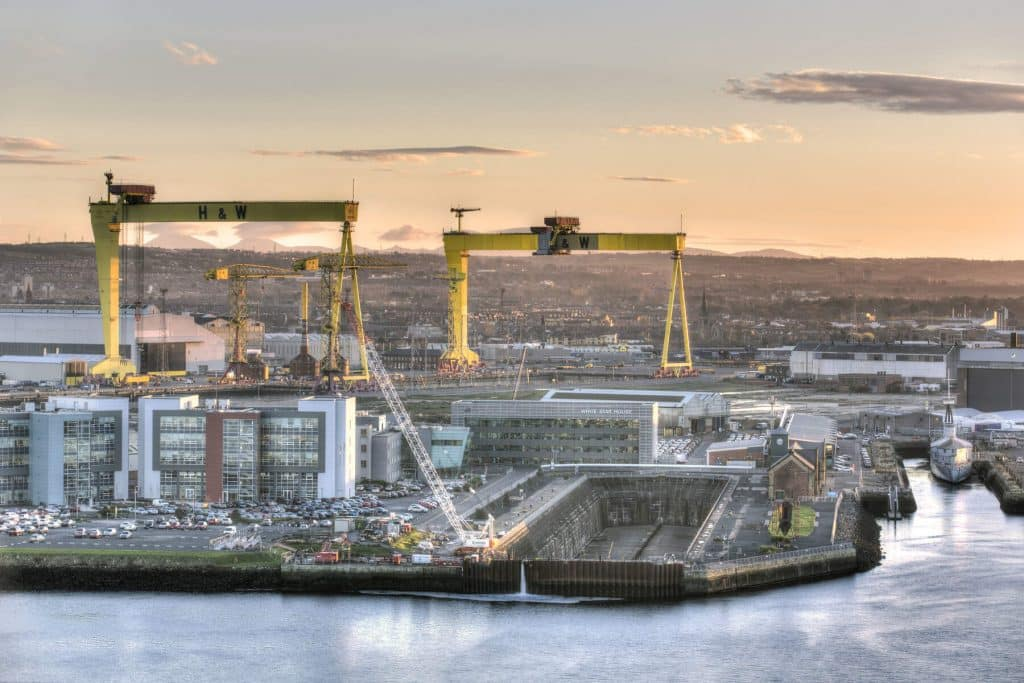 Belfast is an up-and-coming choice.