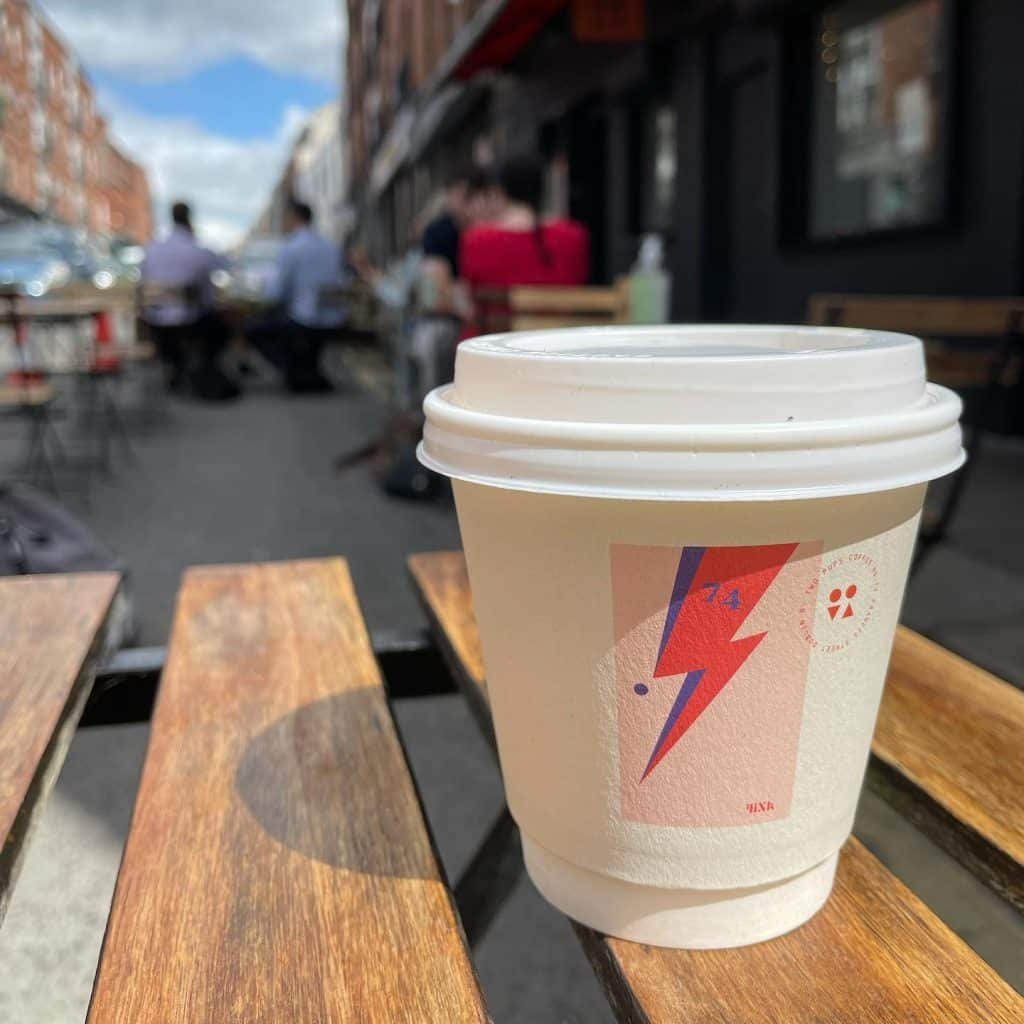 Two Pups Coffee serves up some of the best coffee in Dublin