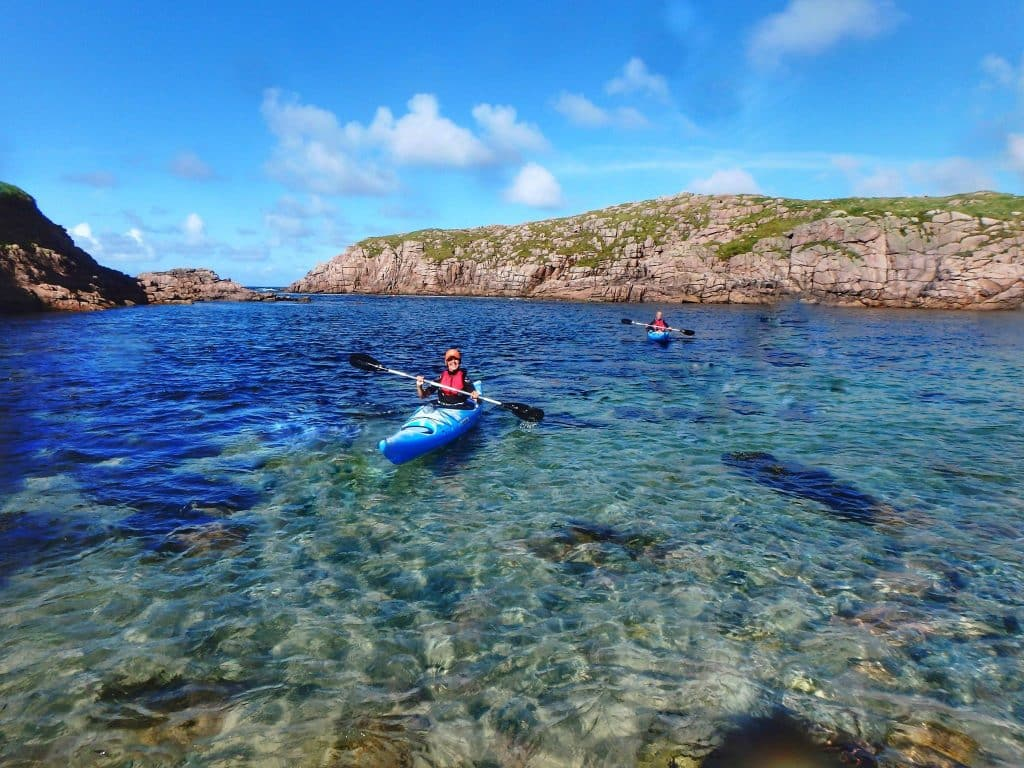 Umfin Island is strictly for experienced kayakers.
