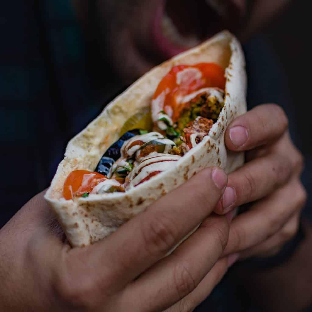 Umi Falafel is one of the best vegan restaurants in Dublin.