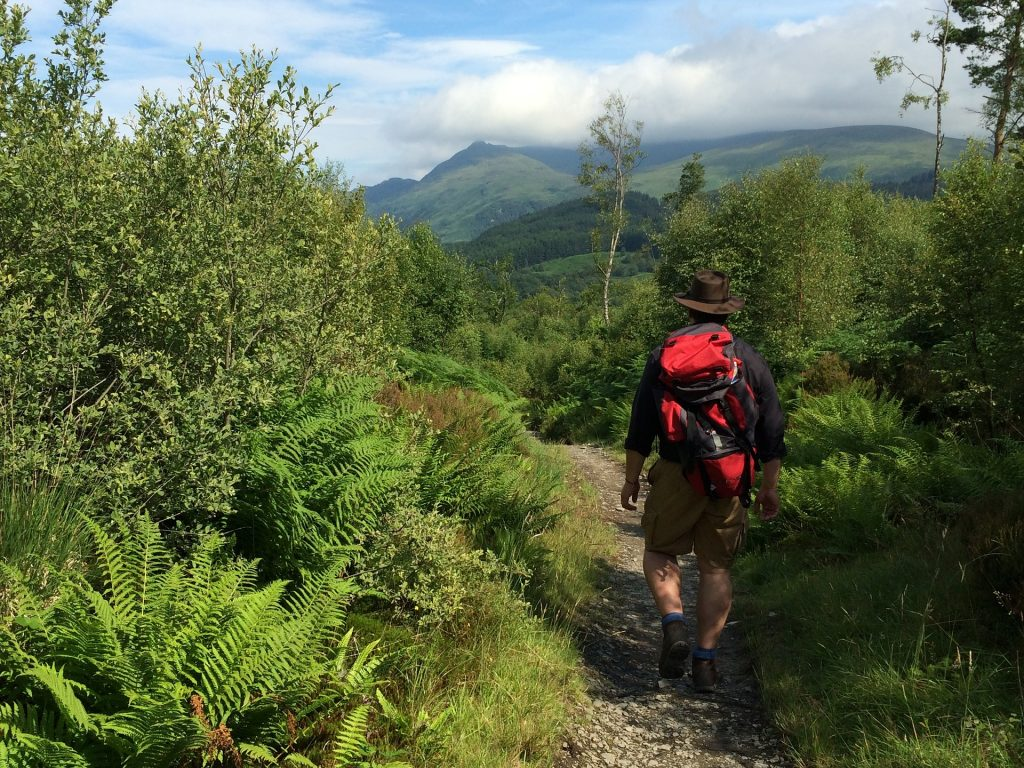 Scotland's West Highlands Way came in sixth position.
