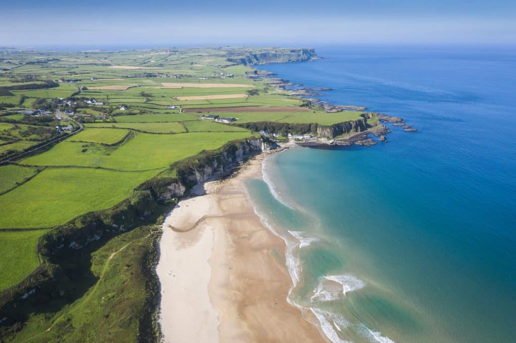 White Park Bay tops our list of the best beaches in Antrim.