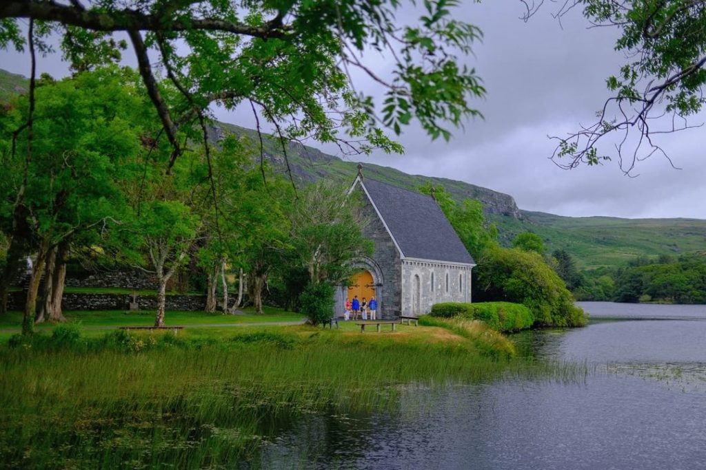 Gougane Barra is one of the most romantic places to propose in Ireland.