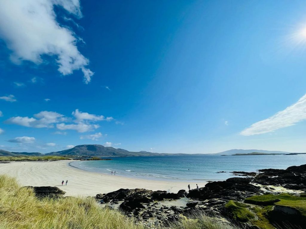 Thallabawn is one of the best beaches in Mayo.