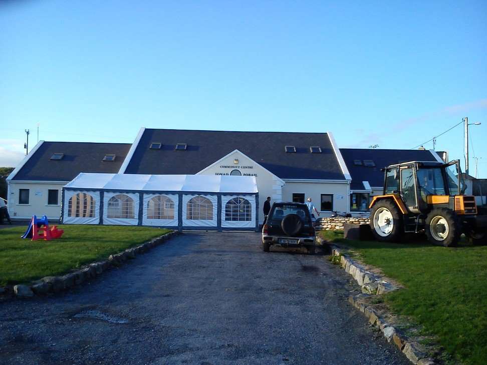 The Clare Island Community Center is one of the best places to listen to live Irish music in County Mayo.