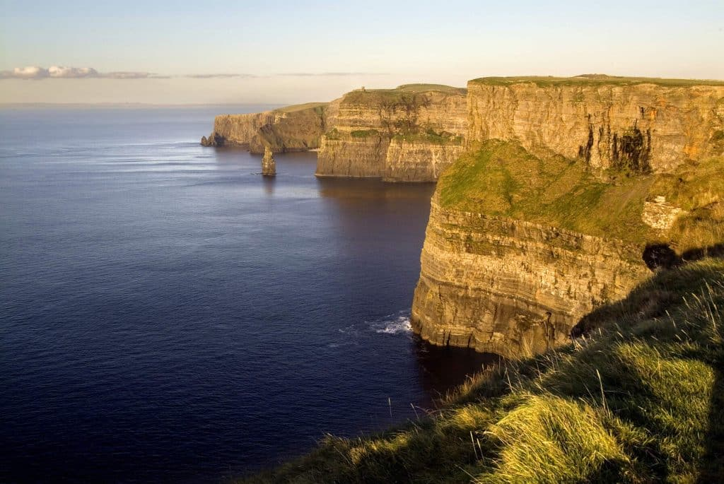 The Cliffs of Moher are certainly one of the most romantic places to propose in Ireland.
