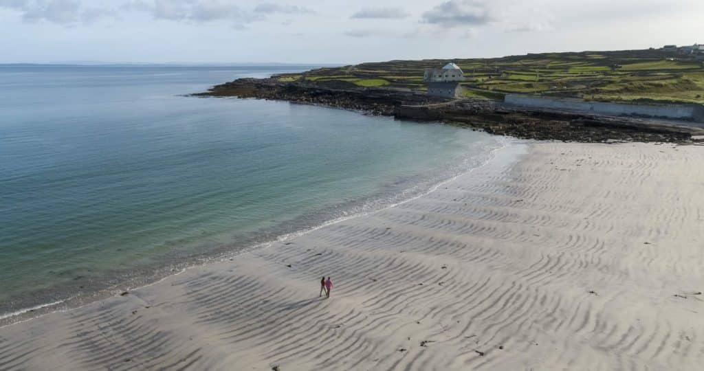 The Aran Islands top our list of most romantic places to propose in Ireland.