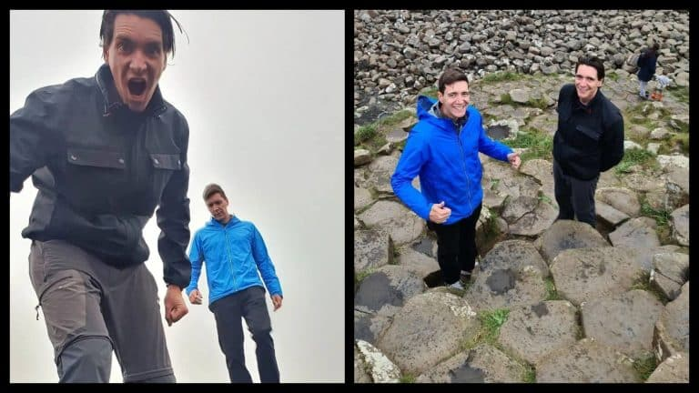 The Harry Potter twins have been enjoying tour of North Coast