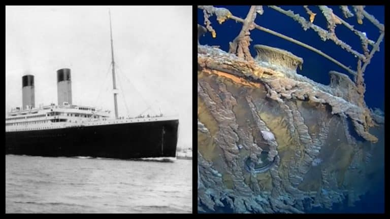4K Images of the RMS Titanic are being released in a new documentary film.