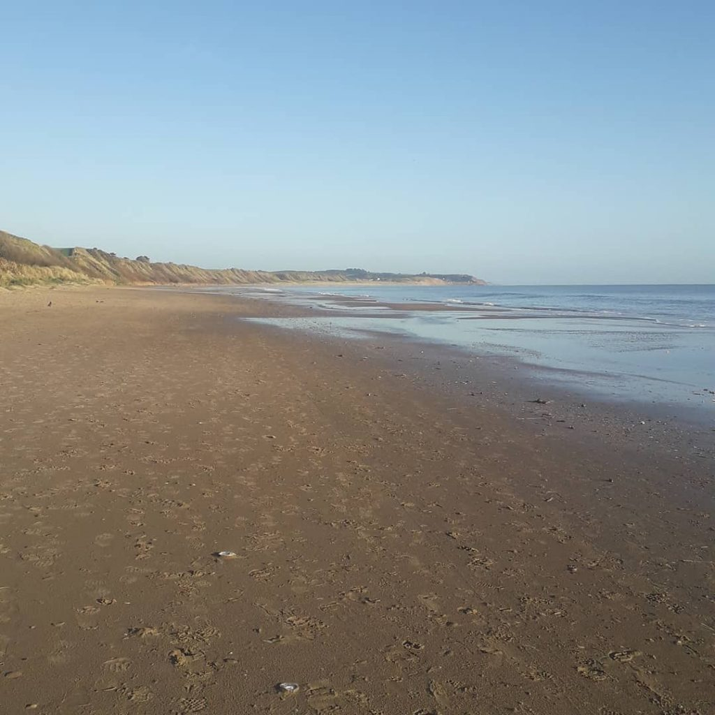 You need to visit Ballinesker Beach.