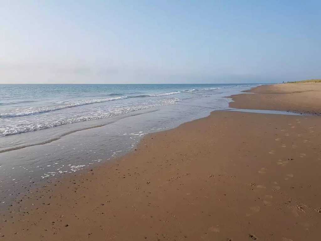 Morriscastle Beach is Europe's longest stretch of sand.