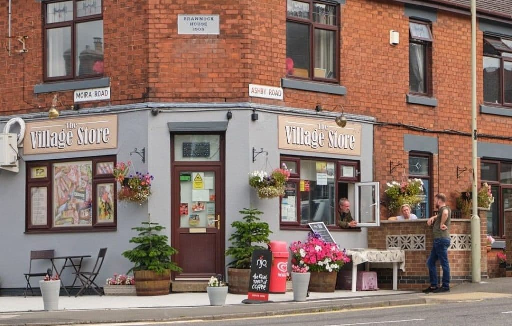 Moira is a colourful village with lots of great cafes.