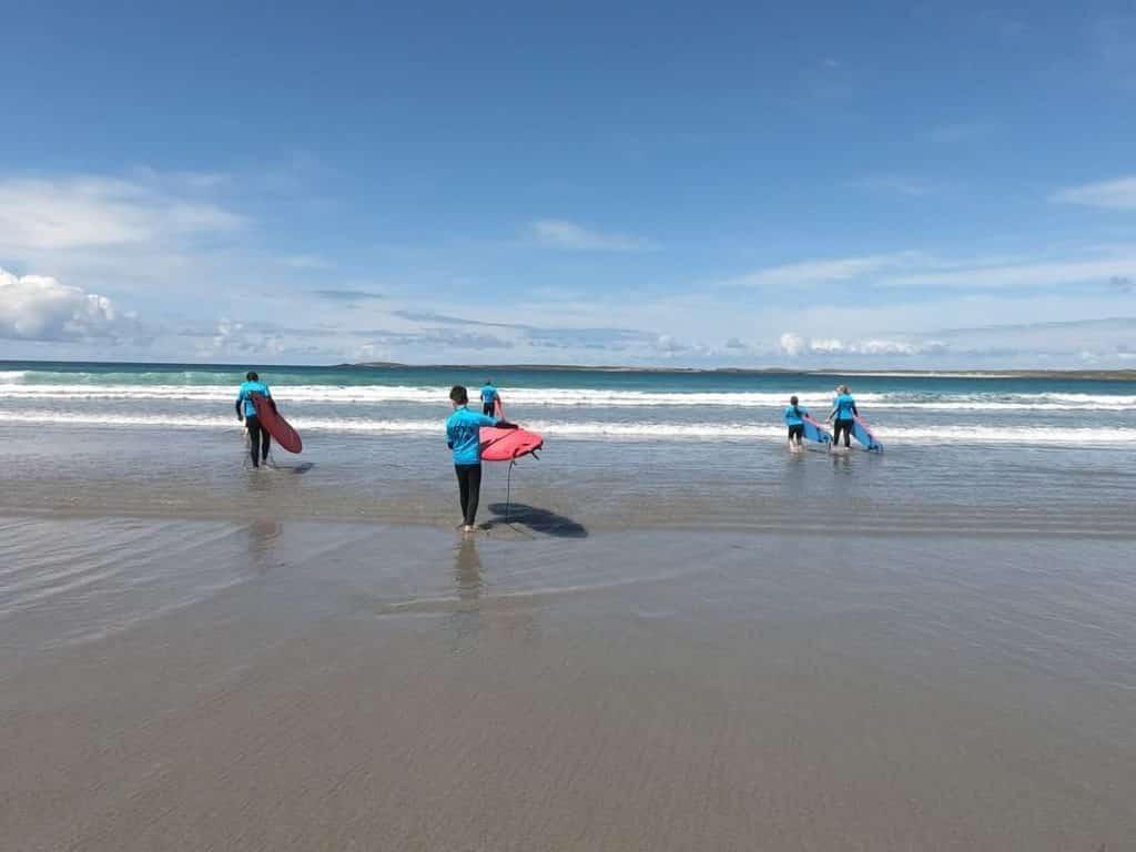 Belmullet is one of the premier surf spots in Ireland.