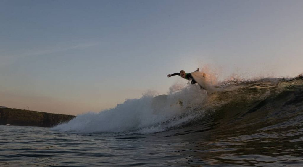 Tullan Strand is one of the best surfing spots in Ireland for more advanced surfers.