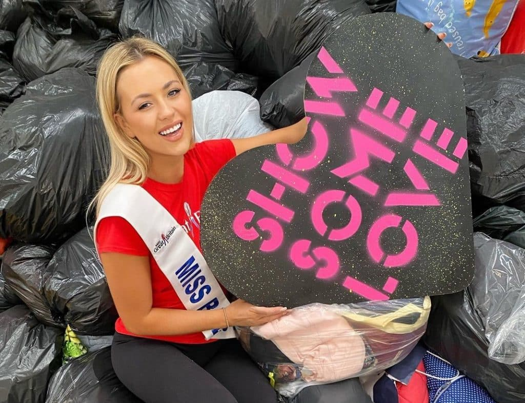 The Northern Irish winner of Miss Great Britain is an inspiration to other young people looking to fulfill their dreams.
