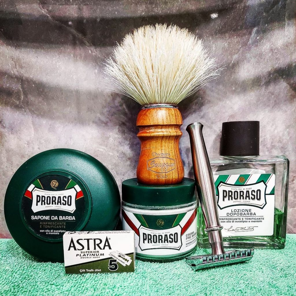 Proraso After Shave Lotion is one of the aftershaves for Irish men that everyone loves.