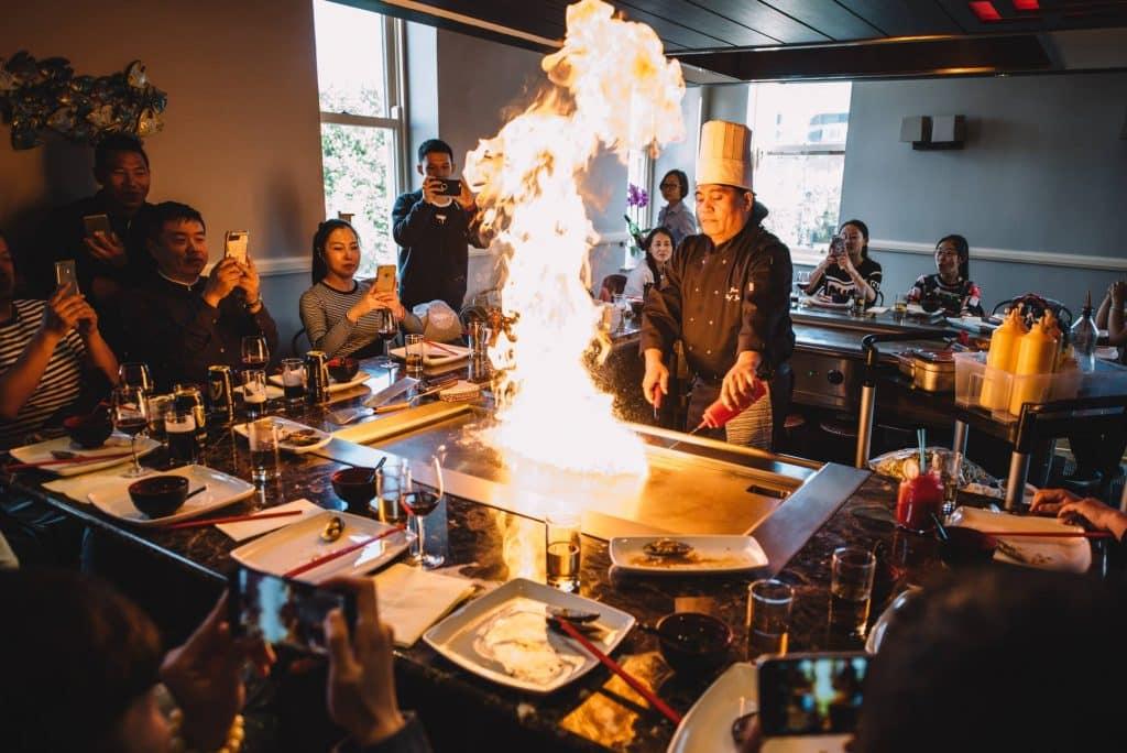 3 Levels serve up delicious Asian cuisine.