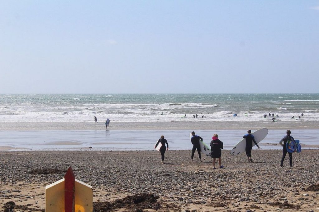 Tramore is great for surfers of all abilites.