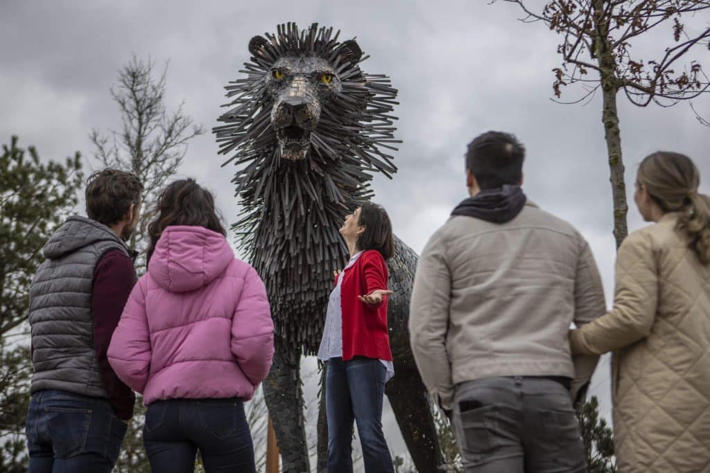 C.S. Lewis Square in County Antrim will bring Narnia to life.
