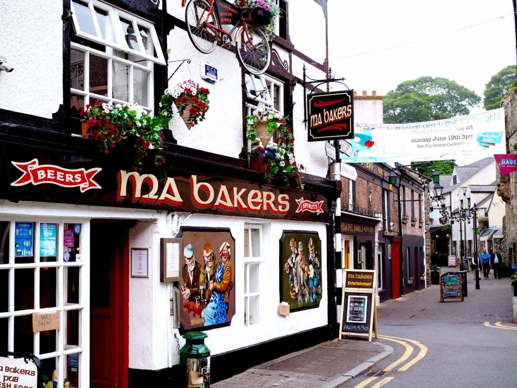 Grab a pint at one of the local pubs.