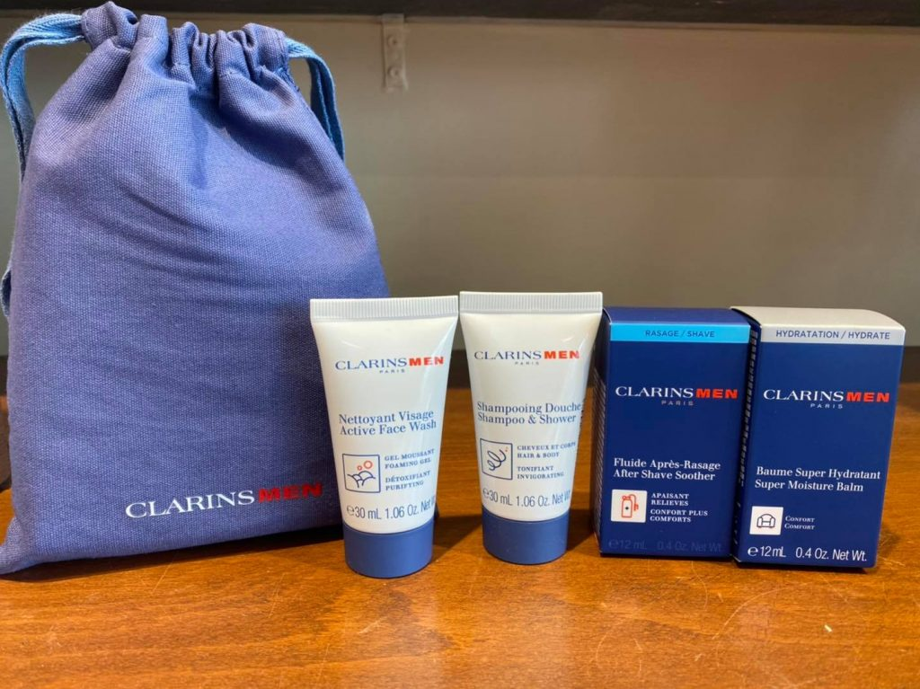 ClarinsMen After Shave Soother is a great choice.
