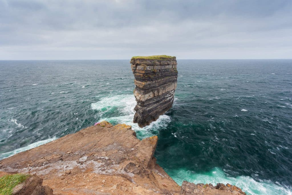 Downpatrick Head in Mayo is the site of this year's event.