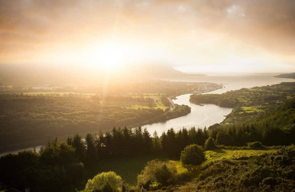 Flagstaff Viewpoint tops our list of best hidden gems in Northern Ireland.