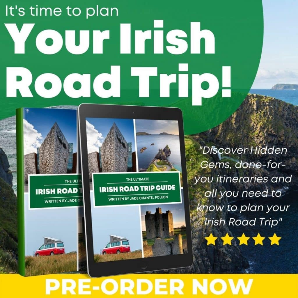 The Ultimate Irish Road Trip Guide is out next week.