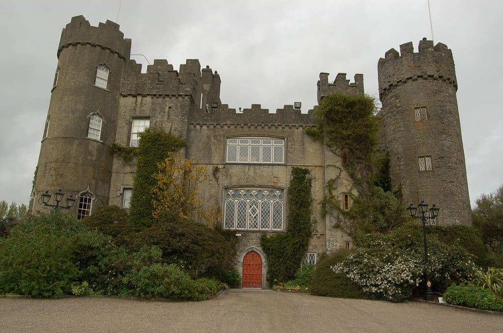 Malahide Castle in Dublin is a spooky spot.