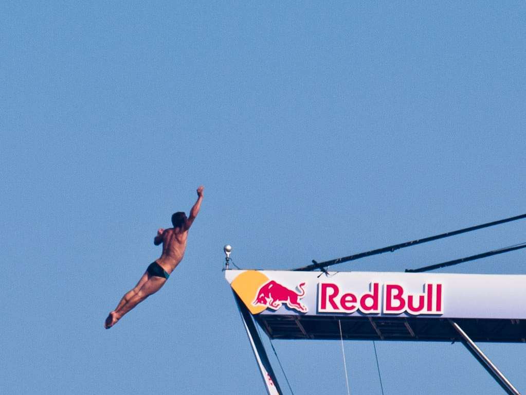 This is not the first time the Red Bull Cliff Diving event has taken place in Ireland.