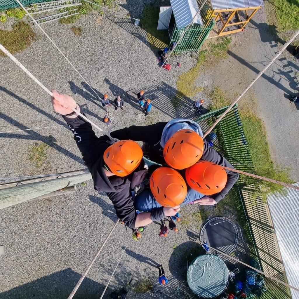 Skypark is one of the best things to do in Carlingford.