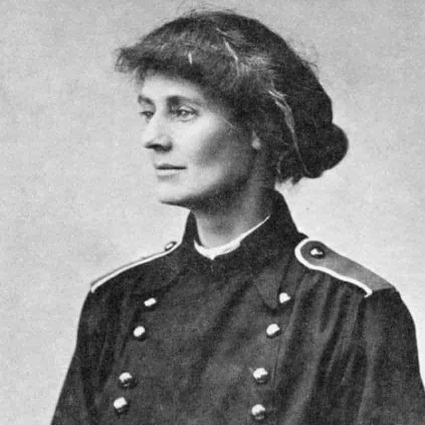 Constance Markievicz is one of the most famous people buried in Dublin's Glasnevin Cemetery.