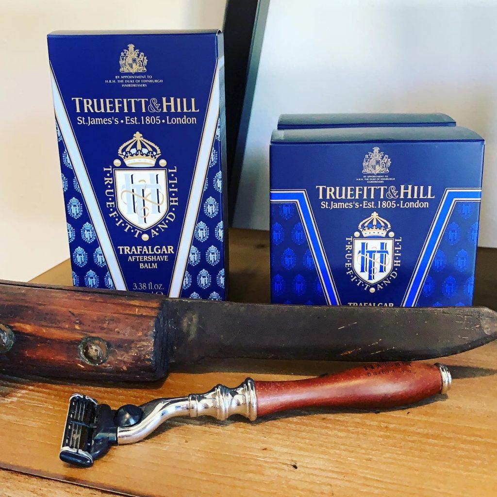 Truefitt & Hill Trafalgar Aftershave Balm is a luxury choice.