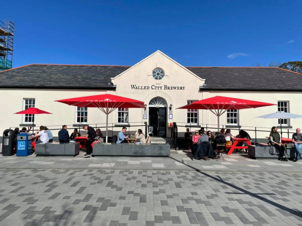The Walled City Brewery won the coveted award.
