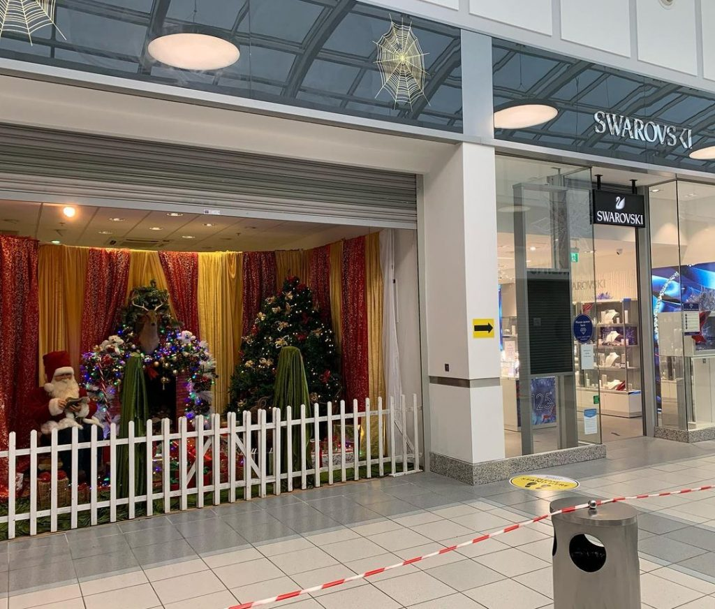 Crescent Shopping Centre is one of the best places to go Christmas shopping in Ireland.