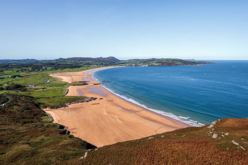Portsalon Beach is one of the most romantic places in Ireland.