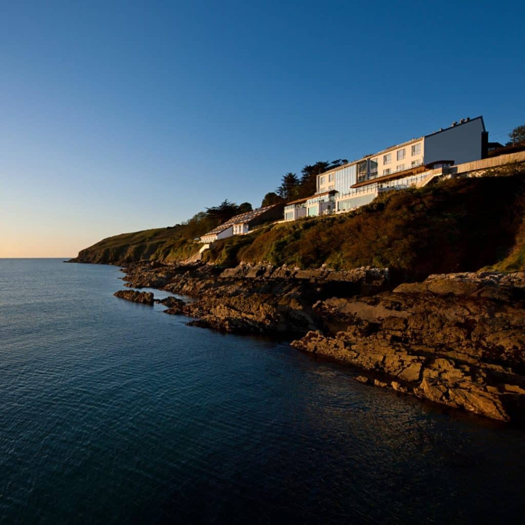 The Cliff House Hotel tops our list of best hotels in south-east Ireland.