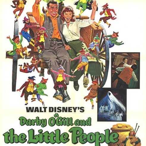 Darby O'Gill and the Little People is a famous movie about Ireland.
